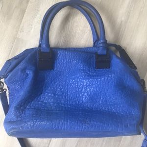 Vince Camuto super soft cobalt blue hobo